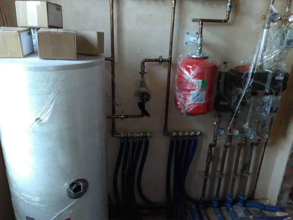 Монтаж сантехніки та опалення, складних і простих систем