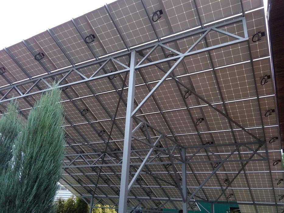 Сонячні електростанції з роботами