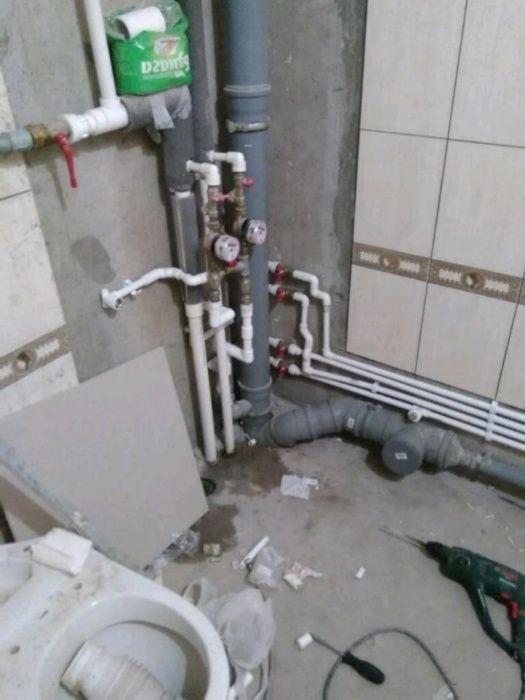 Сантехнік, заміна труб, стояків, сантехніки, каналізації Одеса Сантехника